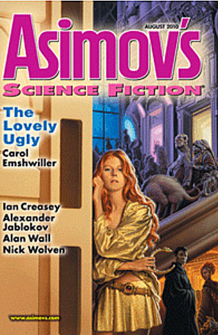 Asimov's cover august 2010